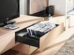 Zestaw elementów do wykonania szuflady Tandembox Antaro/Intivo z hamulcem BLUMOTION. Do samodzielnego montażu. Bok K=115mm Długość prowadnic 450mm Kolor...