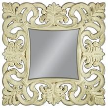 Lustro w pięknie zdobionej, szerokiej ramie. Idealnie sprawdzi się w sypialni, salonie lub przestronnym przedpokoju. Zarówno w aranżacji klasycznej jak i...