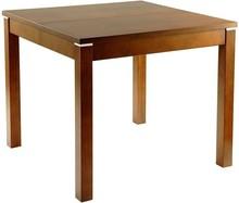 Nowoczesny i bardzo funkcjonalny stół. Posiada jedną wkładkę o szer. 45cm, którą należy przechowywać poza stołem. System rozkładania na prowadnicy...