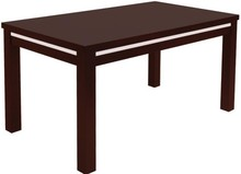 Stół idealnie wpasuje się w nowoczesne wnętrza. System rozłożenia na prowadnicy kulkowej, wkładka chowana pod blatem stołu. Dodatkową ozdobę stanowi...