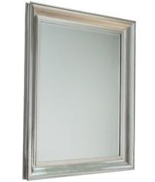 Eleganckie, pokaźne lustro w efektownej posrebrzanej ramie. Rama lustra wykonana jest z drewna i pokryta szlagmetalem. Szlagmetal to cieniutkie listki metalu...