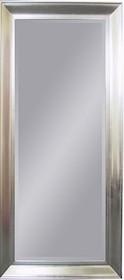 Eleganckie, duże lustro w efektownej posrebrzanej ramie. Rama lustra wykonana jest z drewna i pokryta szlagmetalem. Szlagmetal to cieniutkie listki metalu...