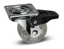 Kółko meblowe,przezroczyste o średnicy fi 50 mm. Maksymalne obciążenie - 30 kg Kółko łożyskowane,wykonane z tworzywa PC/PV Dostępne również w...
