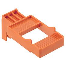 Matryca do 65.5631 Do obróbki mechanizmu TIP-ON BLUMOTION prowadnic szuflad MOVENTO i LEGRABOX. Za pomocą wzornika można precyzyjnie i komfortowo...