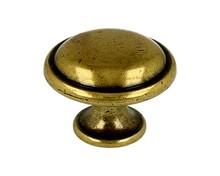 Stylizowana gałka włoskiej firmy Bosetti Marella. Gałka wykonana z wysokiej jakości stopu cynku i aluminium,w kolorze pokryciastare złoto....