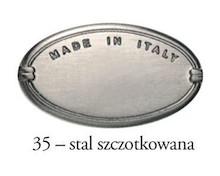 Uchwyt meblowy 2G13003 Stal Szczotkowana Rozstaw 288-320 mm - Bosetti-Marella