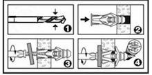 Kołek TripleGrip 4,0 mm Do Uniwersalnego Zastosowania op.5 szt - Siro