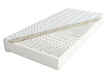 """Materac lateksowy """"Alodium"""" dwustronny, niezwykle komfortowy materac lateksowy o 7 strefach twardości. Wkład materaca stanowi blok lateksowy o grubości..."""