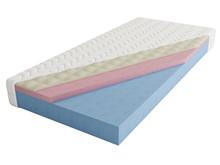 "Materac piankowo- termoelastyczny ""Superb"" dwustronny, niezwykle komfortowy materac piankowo-termoelastyczny. Wkład materaca stanowi blok pianki..."