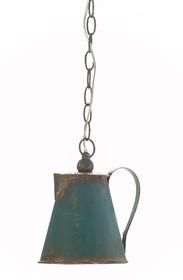 Lampa wisząca Lamali to produkt jedyny w swoim rodzaju.  Zamiast klosza osiada bowiem metalowe imbryki.  Lampa ta dostępna jest w trzech...