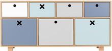 Pięknych i funkcjonalnych mebli nigdy dość. W kolekcji KÓŁKO KRZYŻYK udowadniamy, że oferowane komody idalenie wpasują się w różnych aranżacjach:...