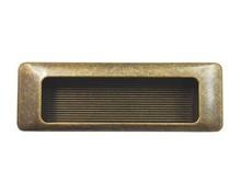 Stylizowany, wpuszczany uchwyt włoskiej firmy Bosetti Marella wykonany z wysokiej jakości stopu cynku i aluminium.  Kolor pokrycia uchwytu: stary mosiądz...
