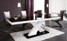 STÓŁ XENON CZARNY/SZARY/BIAŁY OPIS PRODUKTU Stół XENON cechuje ponadczasowa elegancja i prostota. Tradycyjna forma stołu z czterema nogami została...