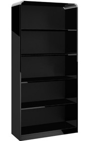 "<strong>Regał z kolekcji MILANO HIGH GLOSS BLACK</strong><br style=""text-align: justify; color: rgb(94, 94, 94); font-family: lato,..."