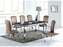 Glamure A8053 to bardzo piękny, niezwykle efektowny stół, który zwróci uwagę nawet bardzo wymagających osób. To wyjątkowy mebel zdecydowanie...