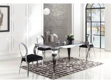 Stół Glamour T925 Stół jest stworzony dla ludzi wymagających, ceniących przestrzeń, dbających o ład i harmonię każdego wnętrza. Nowoczesne, modne...