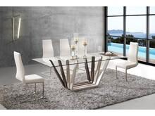 Stół Margo to niezwykle ciekawy mebel, w którym główną rolę odgrywa niebanalna podstawa o ciekawej formie.  To mebel idealny do wszystkich...