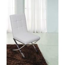 Krzesło BARCELONA NEW DESIGN ekoskóra - biały