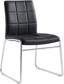 Krzesło duffy 363 - białe - czarne