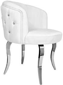 Krzesło emporio glamour - białe