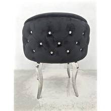 Krzesło emporio glamour - czarne