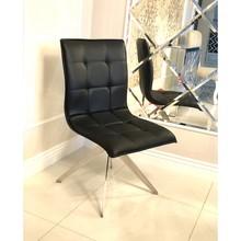 Krzesło FT172 ekoskóra - czarny