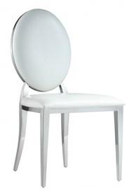 Krzesło medalion b8029 - białe