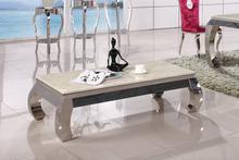 Blat stolika wykonany jest z kamienia, rama oraz nogi ze stali nierdzewnej polerowanej.  Dostępne kolory blatów:  - biały  Wymiary:  -...