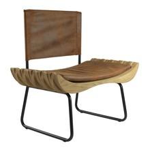 Fotel ORGANIQUE brązowy