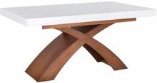 Nietypowy kształt, wyrafinowana forma i ponadczasowe piękno - to cechy charakterystyczne prezentowanego stołu. Wybierz oryginalne rozwiązanie do swojej...
