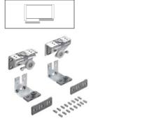 Zestaw wózków górnych TOPLINE L Do Drzwi przednich L/P z nałożeniem lub pokrywających się po zamknięciu o grubości płyty 18-19 mm, montaż...