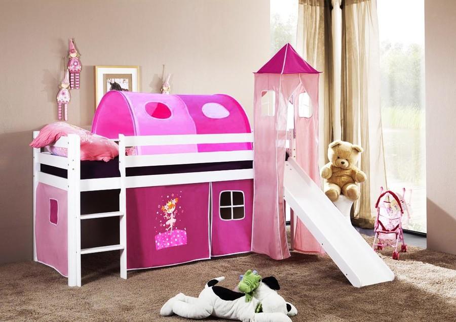 łóżko Dziecięce Orsotunel Księżniczka Róż