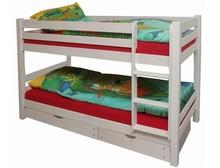 TIGRE łóżko dziecięce.  Komplet TIGRE zawiera: Dwa kompletne stelaże wykonane z drewna Możliwość ustawienia piętrowo lub jako dwa osobne łóżka...