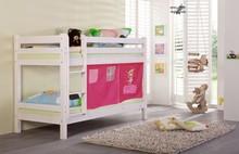 TIGRE+zasłonki łóżko dziecięce.  Komplet TIGRE zawiera: Dwa kompletne stelaże wykonane z drewna Możliwość ustawienia piętrowo lub jako dwa osobne...