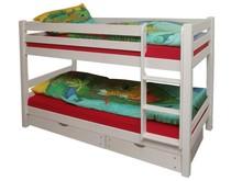 TIGRE+zasłonki+tunel łóżko dziecięce.  Komplet TIGRE zawiera: Dwa kompletne stelaże wykonane z drewna Możliwość ustawienia piętrowo lub jako dwa...