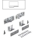 Zestaw wózków górnych TopLine L do drzwi tylnych prawych o grubości od 16 do 40 mm.drzwi z nałożeniem, montaż przed wieńcem górnym ...