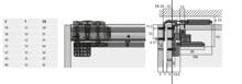 TopLine L -Wózki G/D Montaż Przed WIEŃCEM Drzwi Tylnie Lewe - Hettich