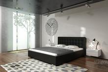 Eleganckie łóżko MARYLA 2 wyróżniają charakterystyczne, tapicerowane elementy wezgłowia, wygodne, wykonane z największą precyzją łóżko doskonale...