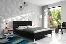 Eleganckie łóżko MARYLA wyróżniają charakterystyczne, tapicerowane elementy wezgłowia, wygodne, wykonane z największą precyzją łóżko doskonale...