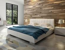 Eleganckie łóżko REY nada niepowtarzalny styl i klimat każdej sypialni. Doskonałe i jednocześnie proste wzornictwo zadowoli najbardziej wymagających....