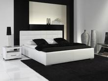 Eleganckie łóżko VERDI wyróżniają charakterystyczne, tapicerowane elementy wezgłowia, wygodne, wykonane z największą precyzją łóżko doskonale...