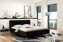 Łóżko GABON 180x200 z opcją pojemnika na pościel