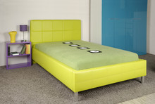Łóżko STELLA z opcją pojemnika na pościel w 5 rozmiarach