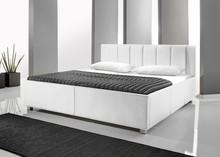 Ekskluzywne łóżko SMILE 2 - wysoka jakość i precyzja wykonania. Obite ekoskórą.  Dostępne wersje kolorystyczne:  - czarny - biały Dostępne...