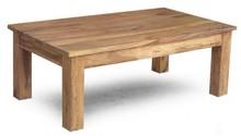 Stolik kawowy drewniany,  120x70x45
