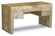 Biurko drewniane, loft, industrialne VERONA VR-09-MN