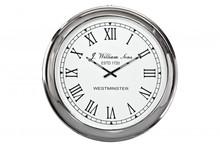 <br />Zegar jest w całości z aluminium i niklu. Idealnie nadaje się jako element dekoracyjny gabinetu, biura. Średnica 76cm<br />