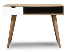 Biurko drewniane w skandynawskim stylu OSLO-ST20-W