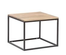 Stolik kawowy drewniany, loft, industrialny