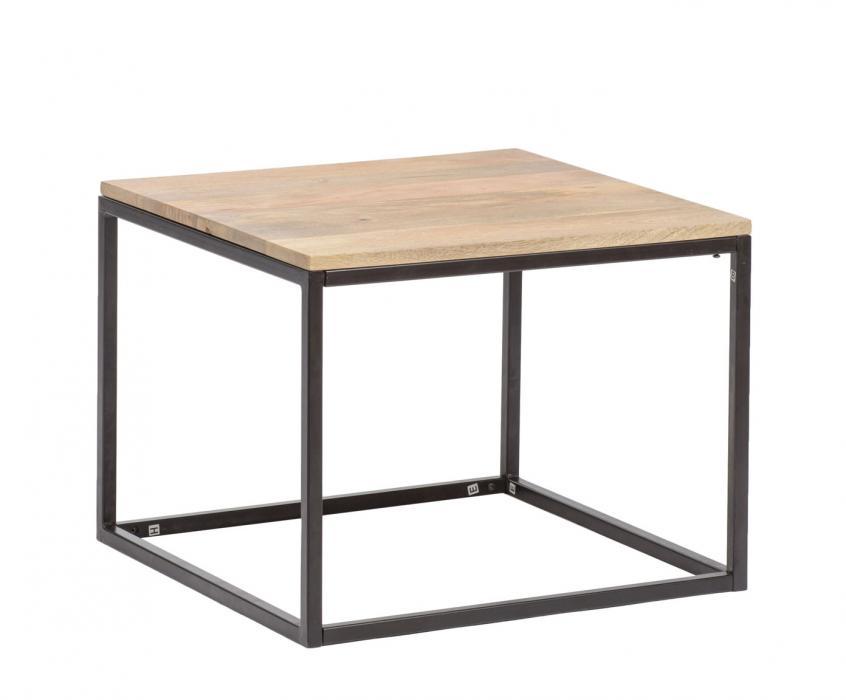 Stolik Kawowy Drewniany Loft Industrialny